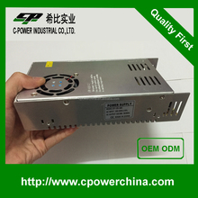 Professional 12V 30A switching power supply 110V or 220V AC Input 30A DC Output Power Supply