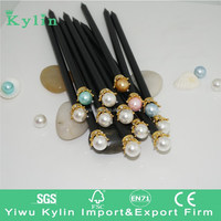 Luxury pencil with pearl and crown