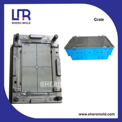 crate covers plastic injection mould
