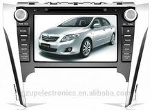 2 din pantalla táctil del HD 8 pulgadas coche especial DVD estéreo para toyota camry nueva 2012