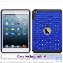 Big promotional gift bling crystal diamond soft gel silicone cover case for ipad mini 4