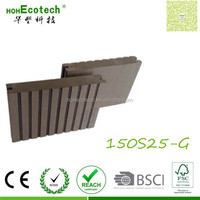 Fireproof classic wood High workable warranty composite floorings wpc eco deck promotion