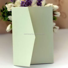 Good quality special updated cheapest pocket invitation cards