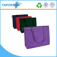 Hot sale full color print new design shopping bag foldable