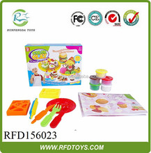 Hot sale color clay play dough for kid,newest and colorful change play dough color clay