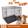 """New 30"""" Medium Collapsible Metal Pet Puppy Dog Cage Crate Kennel Rabbit House"""