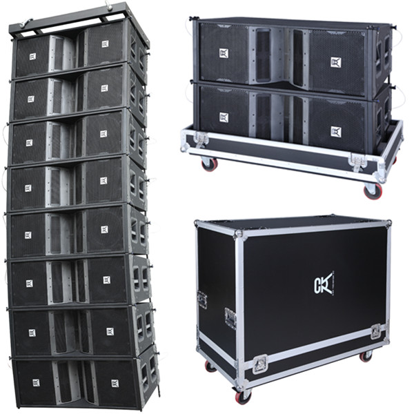 Pro Audio Line Array Concert Speakers For Stage Audio