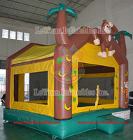 PVC Monkey bouncers, baby bouncers,air bouncer inflatable trampoline en14960