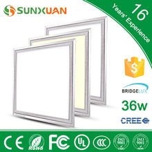 china online shopping 36w square led panel light price, ultra thin led light panel with 3 years warranty