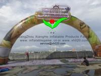 inflatable comercial LOGO arch door inflatable promotion arch door