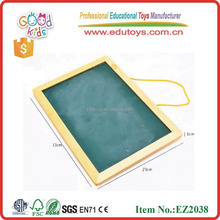 EZ2038 wholesale and custom educational board magnetic whiteboard dry erase wooden blackboard for kids