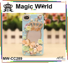 FANCY SEXY GIRLS MAKE UP MIRROR PHONE CASE FOR IPHONE5