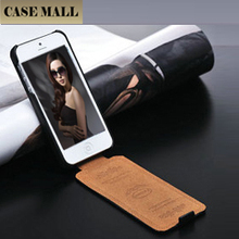2016 China Litchi Pattern For iPhone 5s 5 Case ,For iPhone 5g real leather case ,For iPhone 5s 5 Flip Leather Cover High quality