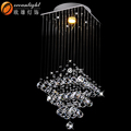 Restaurante chinês decoração, pingentes de vidro para lustre om88524-l300