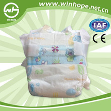 Disposable Baby Diapers,Blue Center Link,PP Tape,Good Quality,PE back sheet