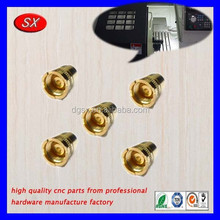 Dongguan custom high quality E-Cig battery connections,OEM precision cnc turning battery fitting part