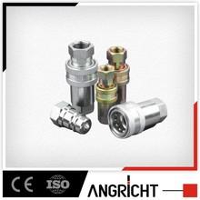 E101 China supplier close type hydraulic quick coupler