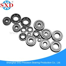 High performance miniature bearing, ball bearing, ABEC1-9, high rotation speed, low noise, rock bottom price