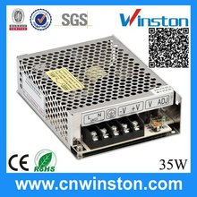 S-35-24 35W 24V 1.5A top grade professional variable dc switching power supply