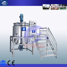 Stainless Steel shampoo mixing Tank Shampoo Making machine,liquid soap production line made in China