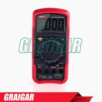 Standard Digital Multimeters UNI-T UT51 DC/AC Voltmeter Ammeter Ohmmeter Tester LCD Backlight Multimetro Ammeter Multitester