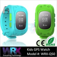 2015 Lastest GSM kids gps tracker watch with Pedometer anti-lost remote monitor