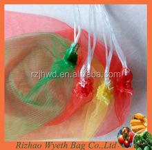 pe tubular netting bag with string