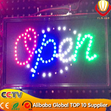 wholesale lower price Optoelectronic Displays led open sign board super brightness catching eyes led sign parts