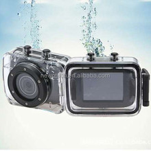 wireless underwater 10 workable point and shoot camera waterproof