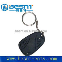 Manufacture of Security system SD card storage wireless mini dv car key camera cheap price BS-736