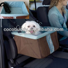 Durable Fabric Car Booster Seat For Pet Dog Travel