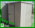 8'x4' Lean Shed Verde Prefab Backyard Shed metal Jardín abrigo para animales DIY Acero Kit- almacenamiento Galpones Venta-NZ / G