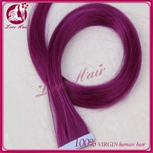 Most Popular&Convenient Malaysian human virgin hair 7A hair Tape skin weft hair extension