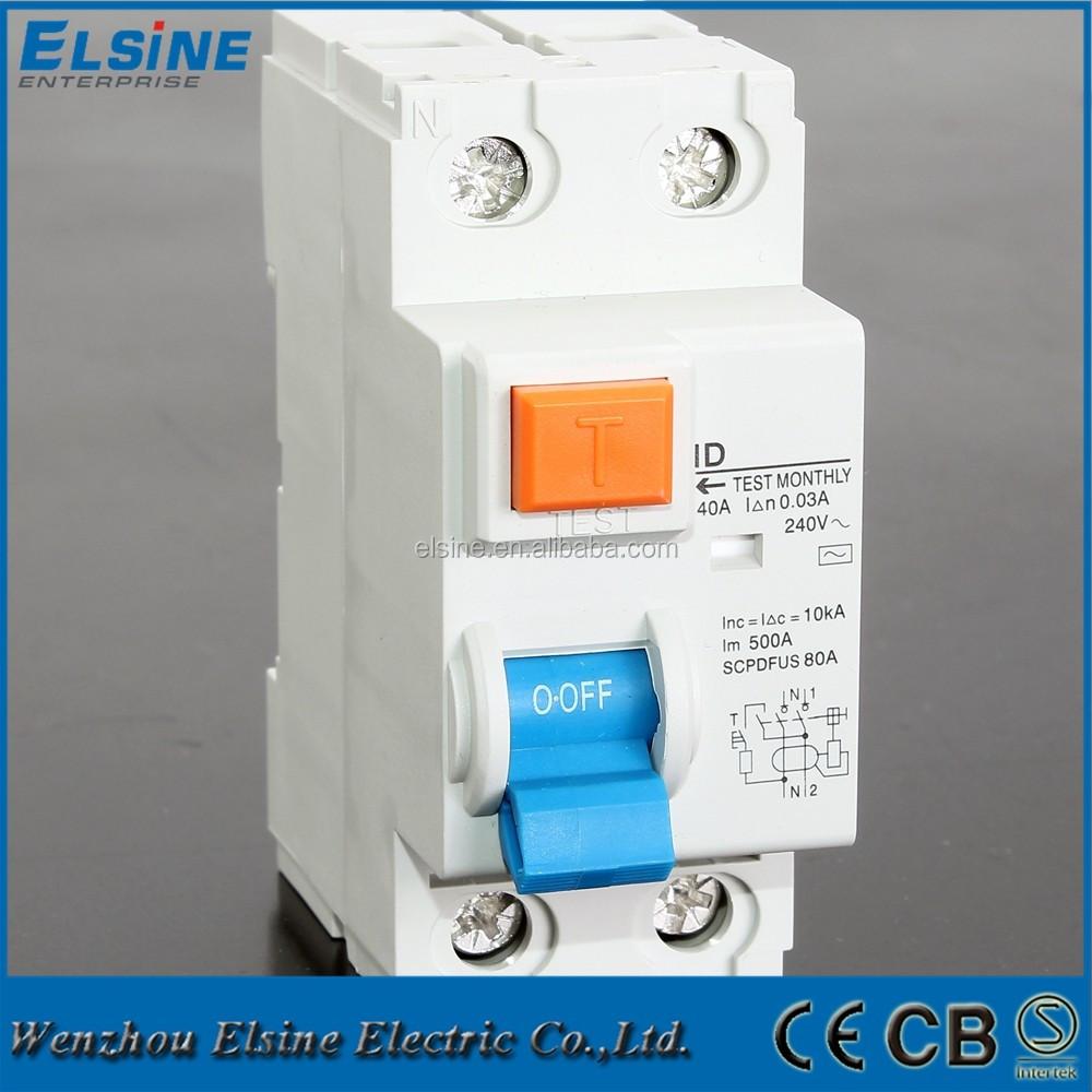 2 Pole 40A 30mA ID Model RCCB.jpg ...