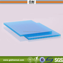 10-year Warranty ISO Certification polycarbonate plastic flat sheet roof with UV Protection