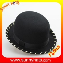 100% wool felt women winter hat wholesale by factory