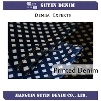 TSF39 spandex denim jeans fabrics for tight style