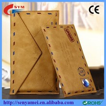 Luxury Envelope Leather Mobile Phone Bags for iphone 6 case packaging