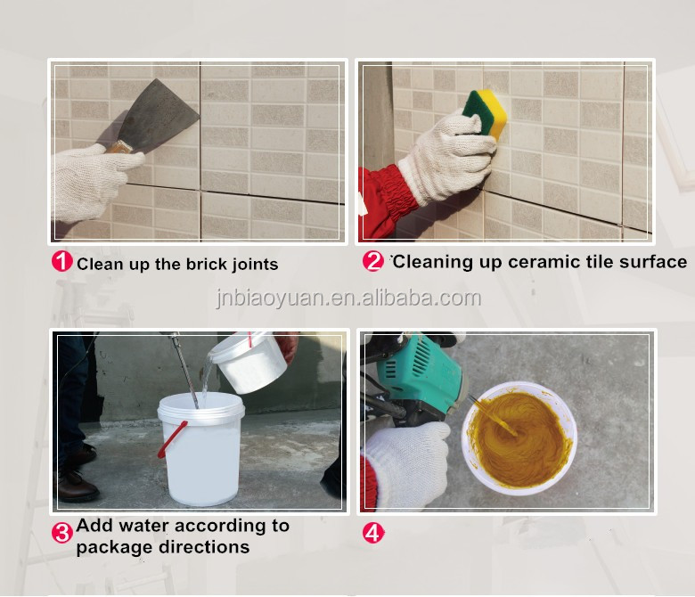 Good Cuality Colorful Cement Powder Tile Joint Mixture Waterproof