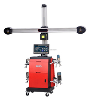 very good stability & accuracy HD Camera and shielded target 3D wheel alignment equipment