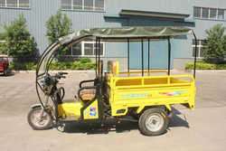 150cc 3 Wheel Cargo Motorcycle with roof