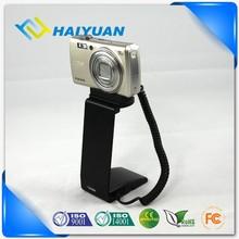 Camera shop beautiful metal anti-theft alarm display pocket camera holder