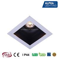 Bathroom IP44 7w citizen cob ip44 20v led downlight, dimmable plaster ceiling downlight design