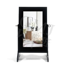 Dongguan small wooden mirror jewelry armoire bedroom furniture made in china