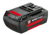 BOSCH 36V3AH LI-ION BOSCH 36V BOSCH Lithium-ion Replacement Power Tool Battery (3Ah, 108Wh)