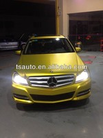 TSAUTOP ROHS Certificate 1.52*20m air Free bubbles gold matte pearl film car film protection
