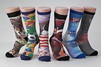 Men Sublimation Socks Elite Basketball Sport Custom Socks