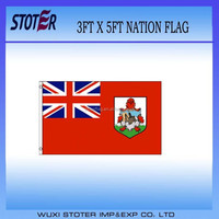 cheap polyester Bermuda nation flag