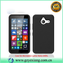 Durable Dual Layer 2 in 1 Hybrid Phone Case For Microsoft Lumia 640XL