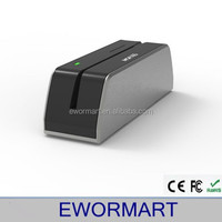 Free dhl or ems ship high performance 3-track magnetic card reader msrx6
